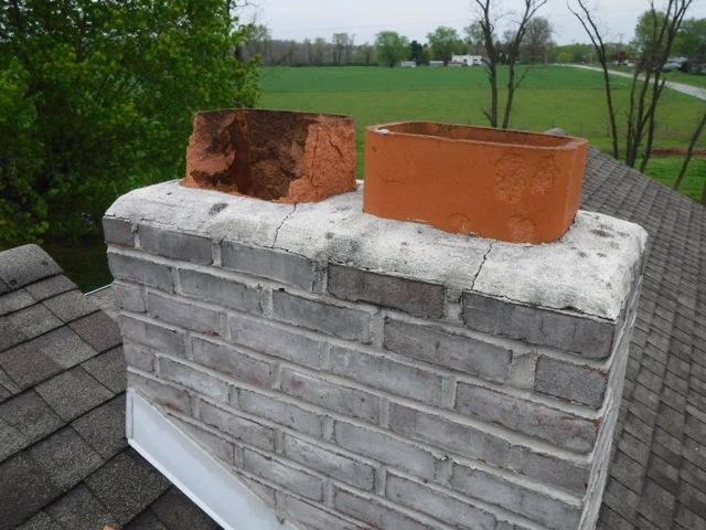 Chimney Restoration - Before Image