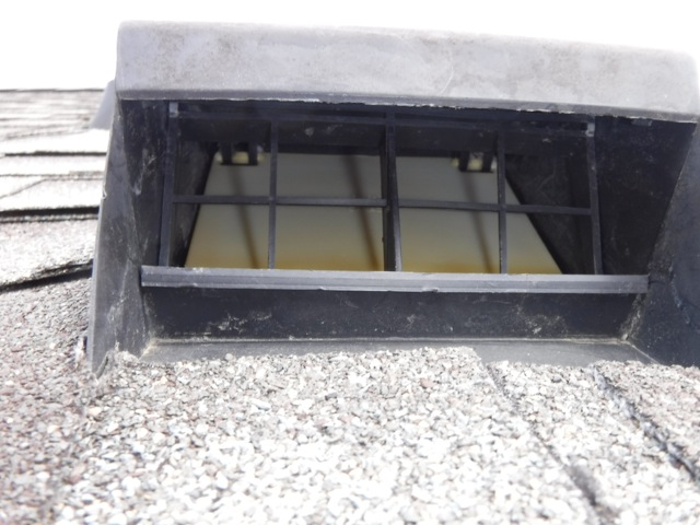 Dryer Roof Vent Cleaning - After Image